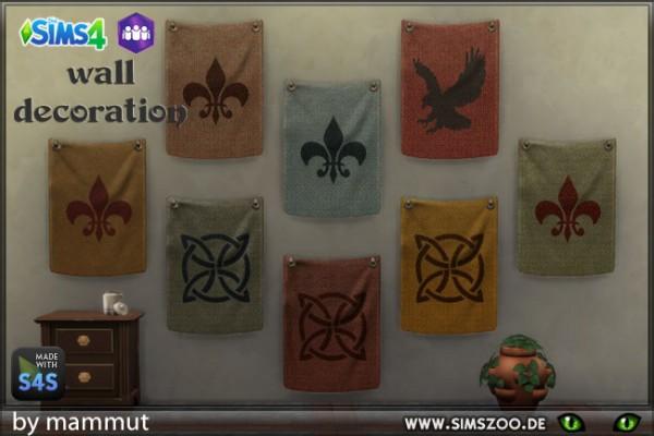 Blackys Sims 4 Zoo: Wall hanging by Mammut
