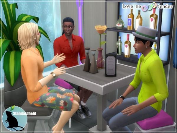 Simsworkshop: Love me bartender shirt by Standardheld