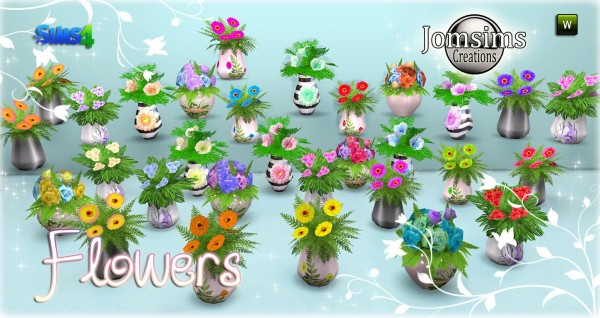 Jom Sims Creations: New Flowers