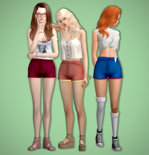 Tukete: Lacey Shorts