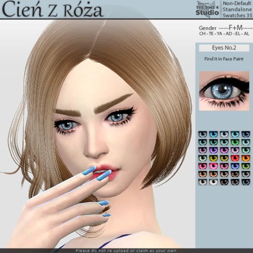 Cien z Roza: Eyes No.2