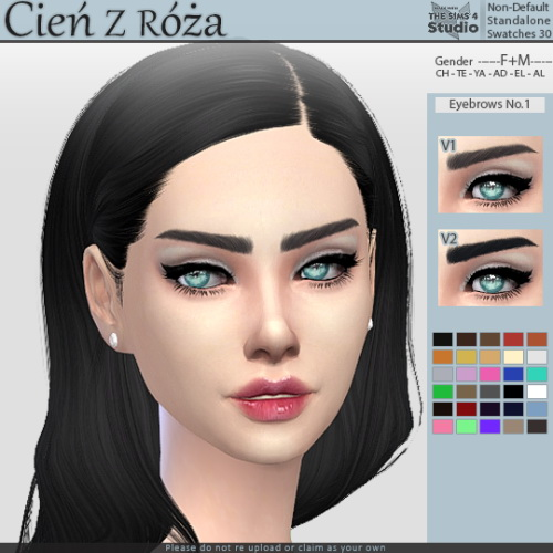 Cien z Roza: Eyebrows No.1