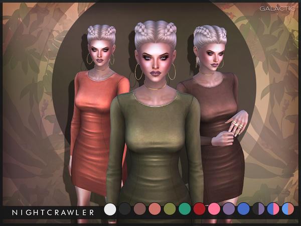 The Sims Resource: Galactic Dress by Nightcrawler