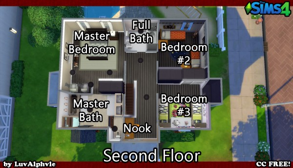 Mod The Sims: Settlement in the Suburbs (No CC) by luvalphvle