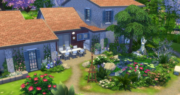 Studio Sims Creation: Lagerstroemia