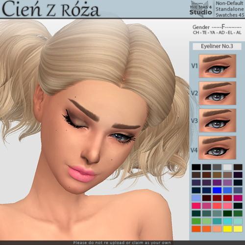 Cien z Roza: Eyeliner No.3