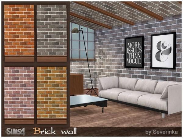Sims by Severinka: Brick Walls