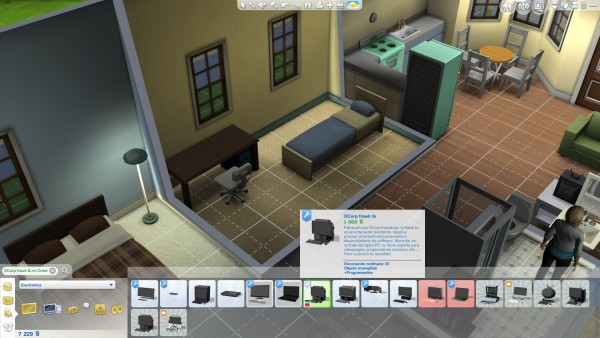 Mod The Sims: Computer & Poster Combo to make your Sims focused while programming by Dexmach1