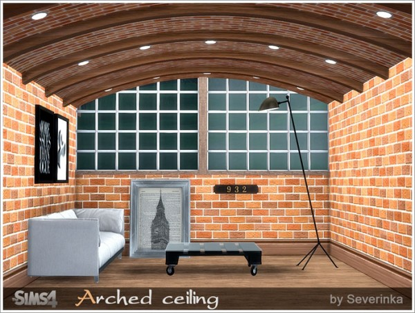 Sims by Severinka: Arched ceiling