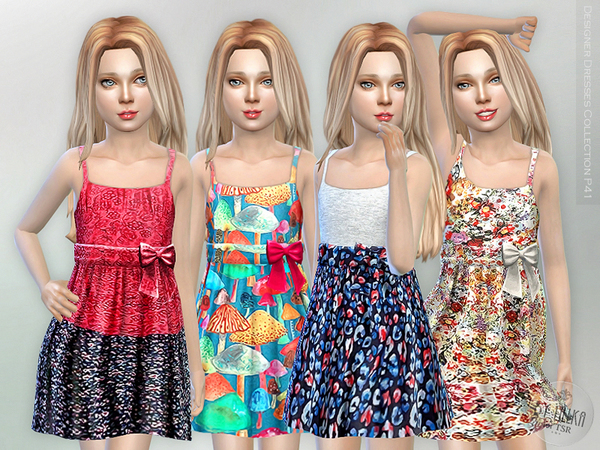 The Sims Resource: Designer Dresses Collection P41 by lillka