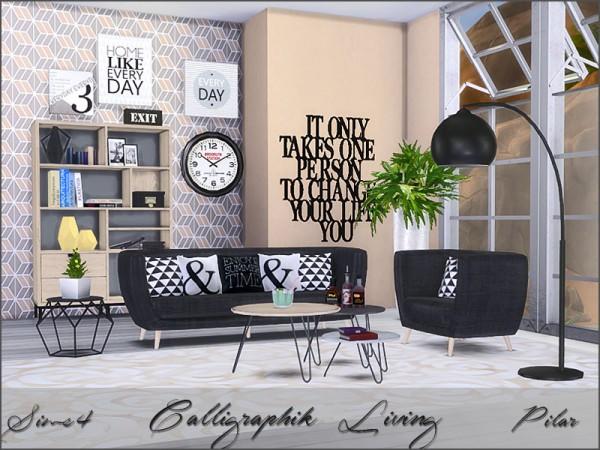 SimControl: Calligraphik Living by Pilar