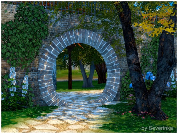 Sims by Severinka: Two arched doors