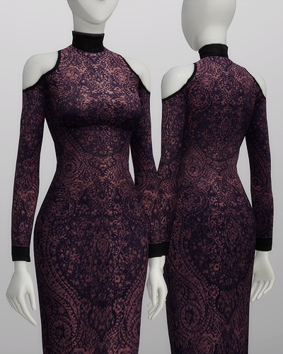 Rusty Nail: Cut Out Mid Lace dress
