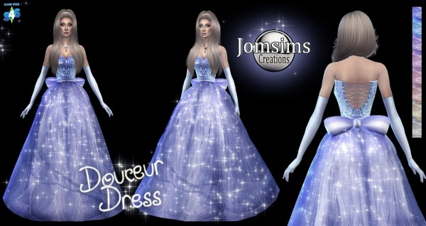 Jom Sims Creations: Softness dress