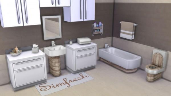 La Luna Rossa Sims: Modern bathroom