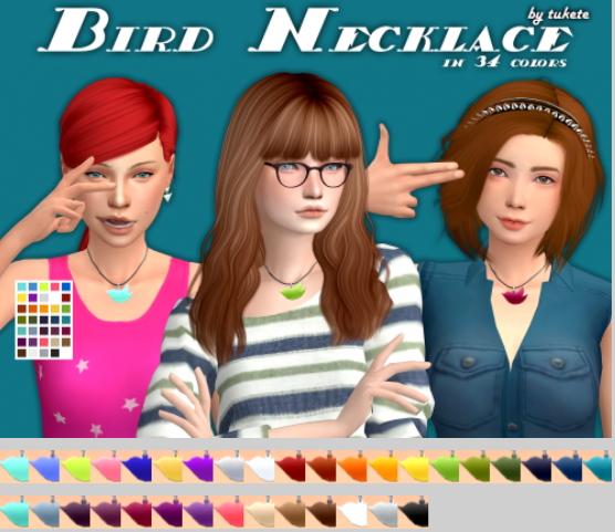 Tukete: Bird Necklace Conversion