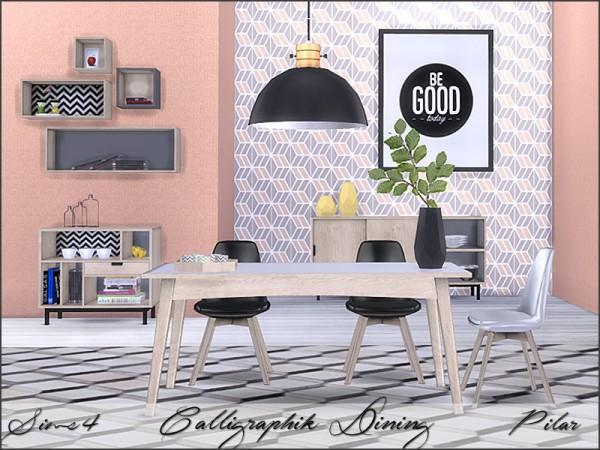 SimControl: Calligraphik Dining by Pilar