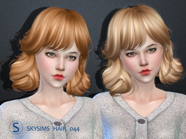 Butterflysims: Skysims 044 donation hairstyle