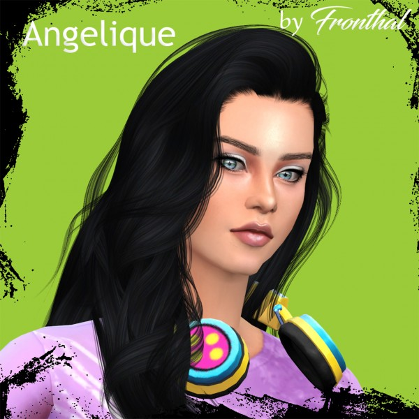 Fronthal: Angelique sims model