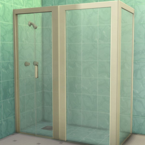 Mod The Sims: Build a Shower Kit by Madhox