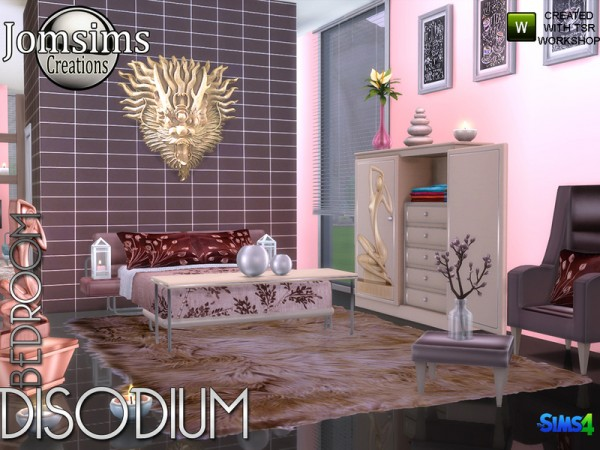 The Sims Resource: Disodium bedroom by jomsims