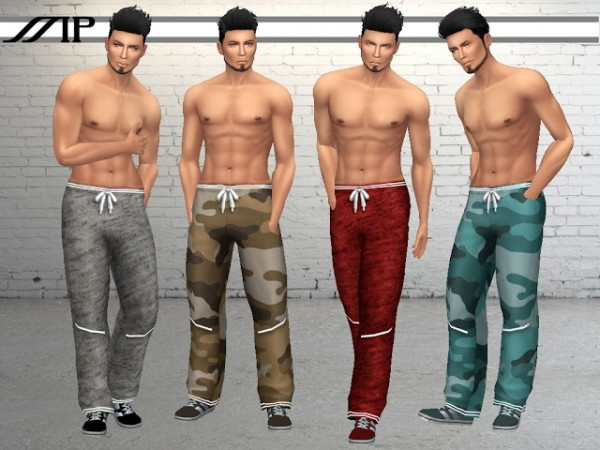 Marty P: Loose Fit Stylish Lace Up Sweatpants