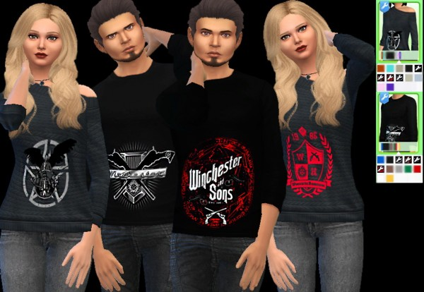 Auri Sims: Supernatural Shirts