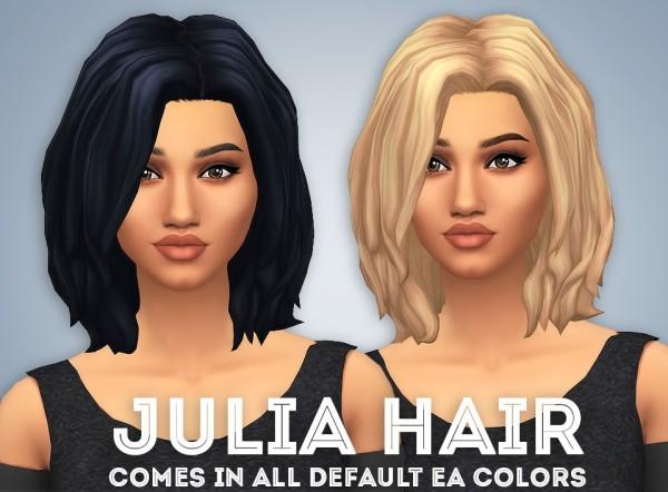 Ivo Sims: Julia free hairstyle