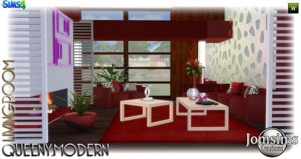 Jom Sims Creations: Queeny salon
