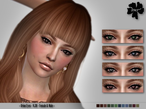 The Sims Resource: Orion Eyes N38 by IzzieMcFire