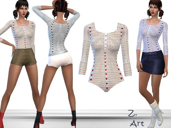 The Sims Resource: Bodyform II by Zuckerschnute20