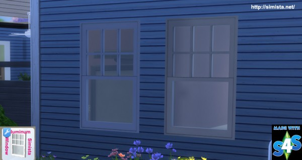 Simista: Aluminium Basic Window