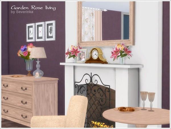 Sims by Severinka: Garden Rose livingroom