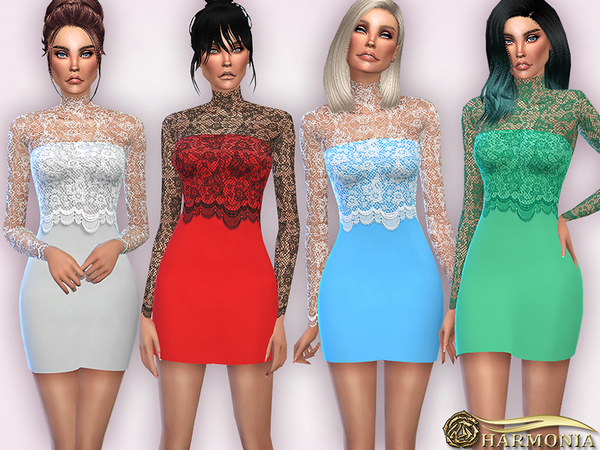 The Sims Resource: Shaona   dress by April