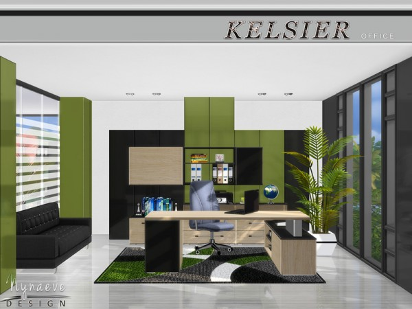 The Sims Resource: Kelsier Office by NynaeveDesign