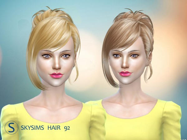 Butterflysims: Skysims 092 donation hairstyle