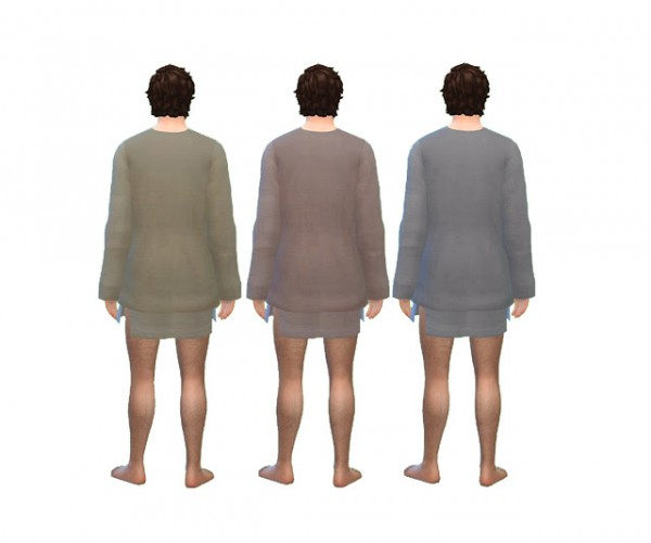 History Lovers Sims Blog: Mens Medieval Sleeping Tunic