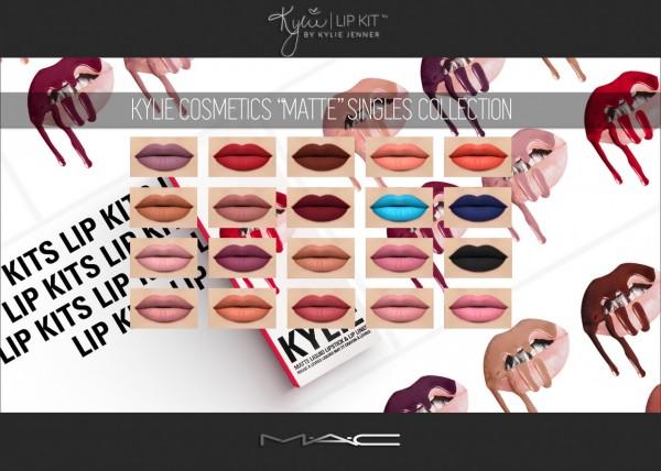 MAC cosimetics: MATTE Singles Collection