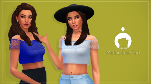 Simsworkshop: Marina Lace Top by madiasims