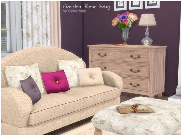 The Sims Resource: Garden Rose livingroom by Severinka