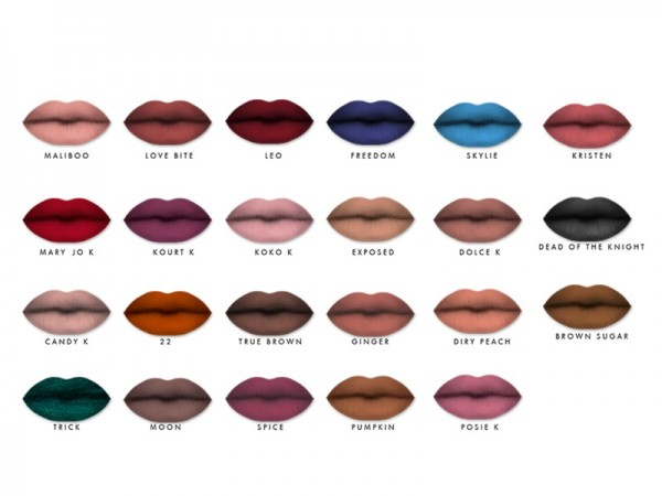 The Sims Resource: Opulent lips by taraab