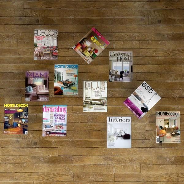 Leo 4 Sims: Home decor magazines