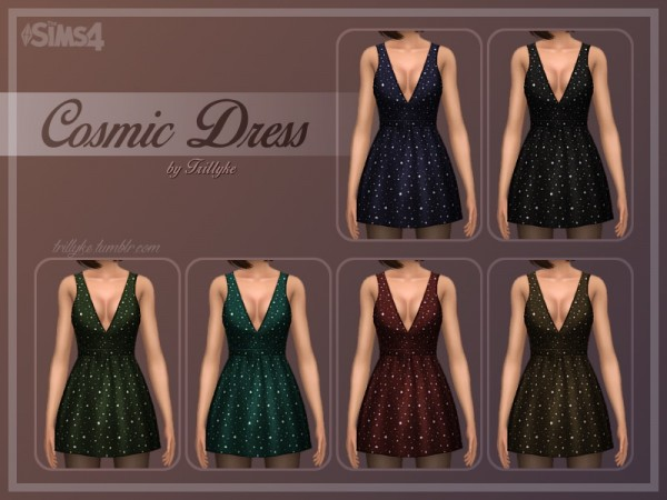 Trillyke: Cosmic dress