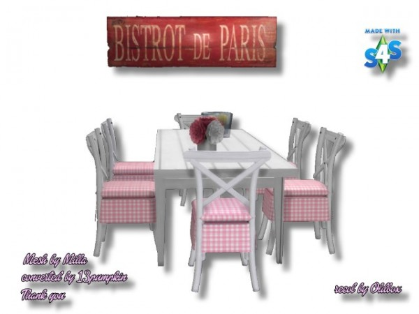 All4Sims: Bistrot de Paris by oldbox