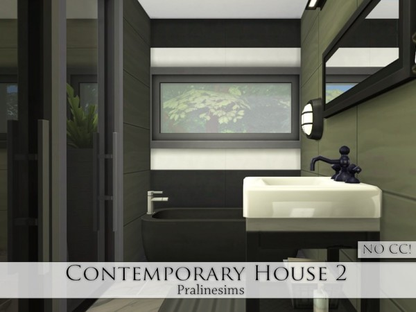 The Sims Resource: Contemporary House 2 by Pralinesims