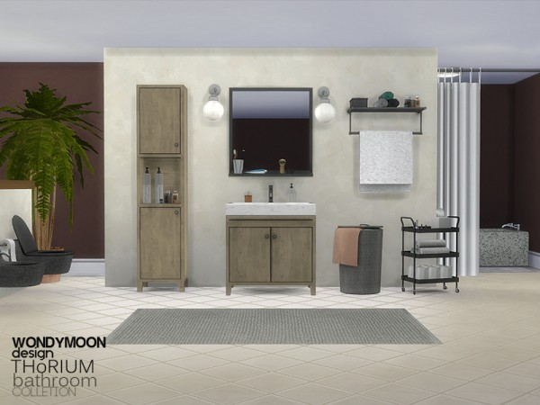 The sims resource thorium bathroom by wondymoon sims 4 for Bathroom ideas sims 4