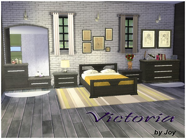 The Sims Resource: Bedroom Victoria by Joy