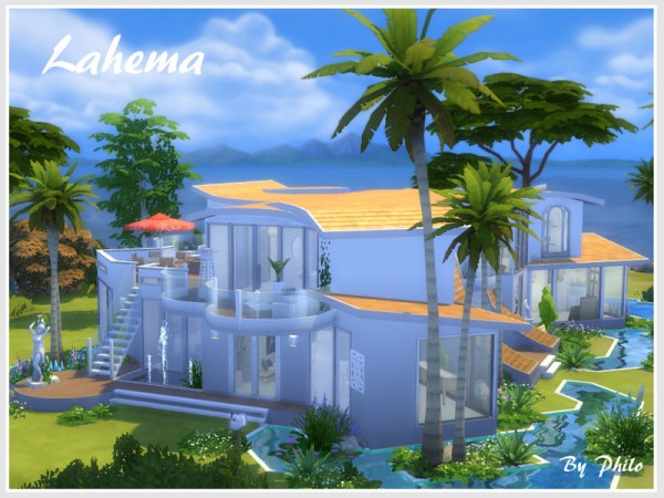The Sims Resource: Lahema residential lot by Philo