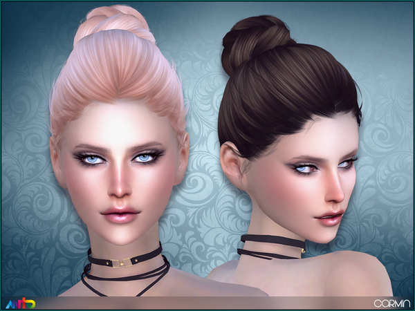 The Sims Resource: Anto   Carmin Hairstyle