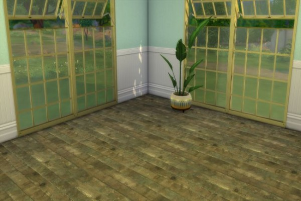 Blackys Sims 4 Zoo: Wood Floor 6 by ChiLLi